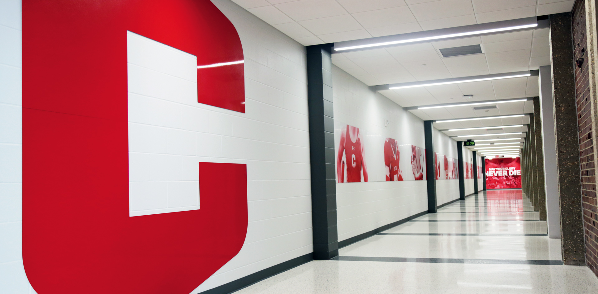 Display Corridor in P.H. Kuyper Gymnasium